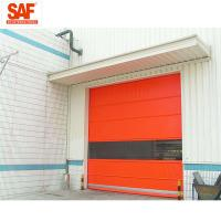 Fast shutter door with Protection PVC Roll Up for clean area factory automation