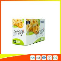 Buy cheap Easy Open Ziplock Snack Bags Resealable For Food Packaging 16*10 Cm from Wholesalers