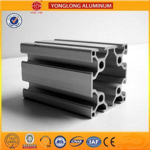 Buy cheap Aluminium Extrusion Profile , Anodizing 40 x 80 / 80 x 80Aluminium Profile For Industrial from wholesalers