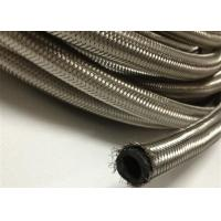 Buy cheap AN4  / AN 6 Braided Rubber Fuel Hose for Automotive , Stainless Steel Outer from Wholesalers