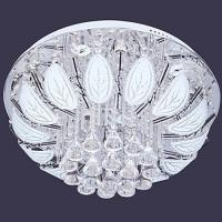 2 Way Crystal Chandelier LED Ceiling Light