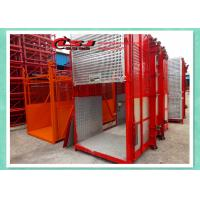 Buy cheap Man And Material Construction Elevator Double Cage Overload Protection from Wholesalers