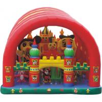 Buy cheap inflatable fun city,giant inflatable bouncer ,lovely snow inflatable amusement park for sale from Wholesalers