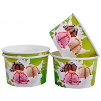 Buy cheap Single Wall Frozen Yogurt Paper Cups , Paper Ice Cream Pint Containers from Wholesalers