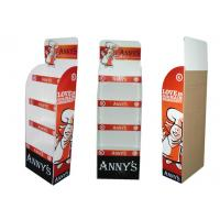 Buy cheap Cardboard Display Stand Flooring Food Stands ENTD003 for showing such as bread , cake from Wholesalers