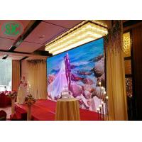 P4 Fixing Full Color Indoor Smd Led Display Iron And Steel Material