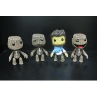 Buy cheap Woven Bag Effect Custom Action Figures With Little Big Planet Logo from Wholesalers