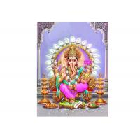 Buy cheap Custom India God Lenticular 3d Pictures Decorative Geneisha Image from Wholesalers
