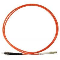 Buy cheap ST To LC UPC Simplex Fiber Optic Cable Patch Cord 50/125 Orange / Blue Color from wholesalers