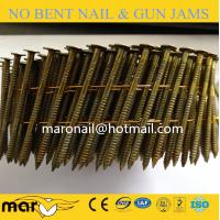 Buy cheap 15 Degree Smooth Shank Wire Welded Coil Nails from wholesalers