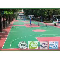 Buy cheap Green Silicong PU Sport Court Surface For Multifunctional Stadium from wholesalers