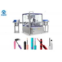 Buy cheap Rotary Type Automatic Cosmetic Filling Machine PLC Control 1-30ml Capacity from Wholesalers
