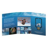 Buy cheap 16GB Promotional Gift Business Card Size Usb Flyer Webkey / Custom Logo Webkey from wholesalers
