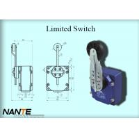 Quality Bigger Plastic Wheel Swing Arm Rotary Blue Limited Switch 1.155 Weight Used In Hoist wholesale