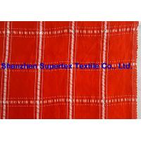 Buy cheap Plaid Design Cupro Viscose Polyester Yarn Dyed Shirt Fabric from Wholesalers