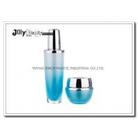 Buy cheap Gradient Blue Empty Lotion Containers Capacity 30 Ml Bottle Height 130 Mm from Wholesalers