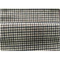600 G / M Little Tartan Plaid Fabric With 30 Wool 70 Synthetic In Stock