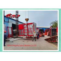 Buy cheap High Efficiency Temporary Rack And Pinion Lift For Construction Site Double Cage from Wholesalers
