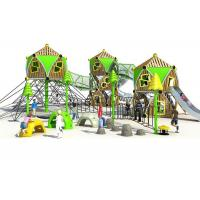 Buy cheap OEM Offered Custom Playground Equipment / Kids Outdoor Playground Environmental Protection from wholesalers