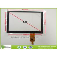 China 5.0 Inch 480x272 Capacitive Touch Panel Thin Smart Home Multi - touch Screen on sale