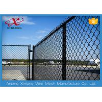 Buy cheap Multi Function Diamond Wire Netting , Chain Link Mesh Fence Twist / Knuckle from Wholesalers