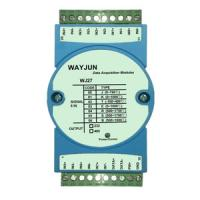 Buy cheap WAYJUN Eight channels thermocouple signal acquisition,blue isolation conversion DIN35 from Wholesalers