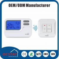 Quality 7 Days Programmable Underfloor Heating RF Room Thermostat 16A 230V RF wholesale