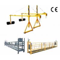 Buy cheap Personalized Adjustable Steel Suspended Working Platform with Dipping Zinc from Wholesalers