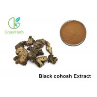Buy cheap Black Cohosh Herbal Plant Extract Brown Powder 5% Triterpenoid Saponins from wholesalers