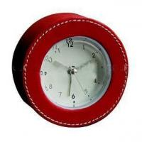 Buy cheap Leather Clock from Wholesalers