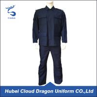 Buy cheap Breathable Patrol Duty Uniform For Men , Custom Security Uniform Shirts from Wholesalers