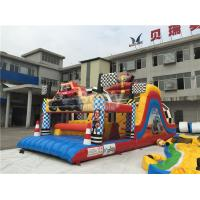 Buy cheap Water-Proof Inflatable Obstacle Course / Inflatable Outdoor Play Equipment from wholesalers