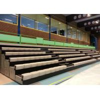 Buy cheap Powered Telescopic Arena Stage Seating With Anatomically Contoured Seat Surface from Wholesalers