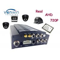 Buy cheap Hard disk 4 channel HD Mobile DVR car recorder with GPS 4G WIFI support 2TB from wholesalers