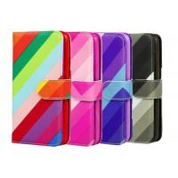 Buy cheap Colorful PU Custom Made Samsung Galaxy Phone Cases With Card Pocket from Wholesalers