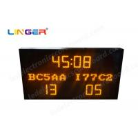 Buy cheap Multi Functional Led Electronic Scoreboard Football With Iron / Steel Frame from Wholesalers