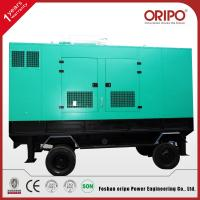 Buy cheap Silent Portable Diesel Generator with Cummins Engine from Wholesalers