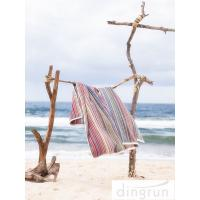 Buy cheap Premium Cotton 320gsm lightweight beach towels Quick Dry Easy Wash AZO Free from Wholesalers