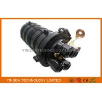Quality FTTH Fiber Optic Cable Joint Closure 4 Ports 24 Cores For Underground / Pipeline for sale