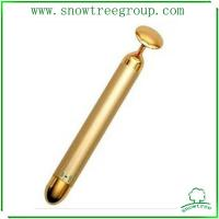 24k golden hight end quality popular japan beauty bar slim face bar with a cicle cake heat