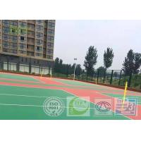 Buy cheap Low - Density Rubber Basketball Court Sport Surface For Indoor Stadium 4MM from wholesalers