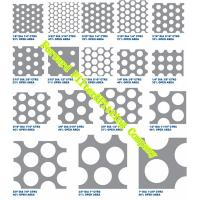 Quality Water Strainer Perforated Metal Sheet Patterns / Perforated Stainless Steel Plate For Exhibition Stand wholesale