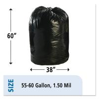 Buy cheap 1.5mil Plastic Recyclable Garbage Bags Compostable Cornstarch Material from Wholesalers