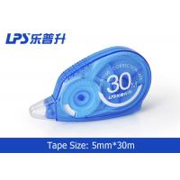 Quality Customized Assorted Color White Out Correction Tape 5mm * 30m wholesale