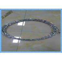 Buy cheap BTO22 Safety Razor Barbed Wire Hot Dipped Galvanized 3/5 Clips PVC Coated from wholesalers