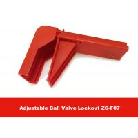 Buy cheap 326G Durable Plastic Flame-retardant Material Valve Lock Out , English Labels is Available from Wholesalers