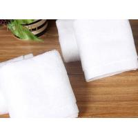 Buy cheap Customized Hotel Face Towel White 100% Organic Cotton Bulk from Wholesalers