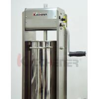 Buy cheap Commercial 3L Sausage Filler Sausage Stuffer , 7LB Dual Speed Meat Maker Machine from wholesalers