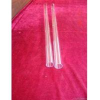 Buy cheap Transparent Fused Quartz Tube from Wholesalers