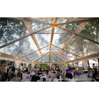 Buy cheap Transparent Roof PVC Fabric clear canopy tent for Luxury Wedding Party from Wholesalers